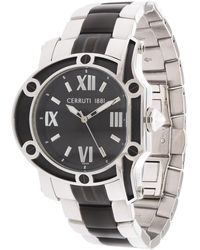 Cerruti 1881 - Watch Silver Crf002e221b - Lyst