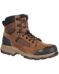 "Georgia Boot - Men's Gb00107 6"" Bc Hiker Waterproof Boot - Lyst"