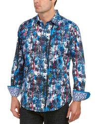 Robert Graham - Classic Fit Drew Circle Woven Shirt - Lyst
