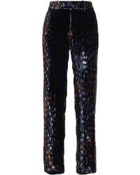 Equipment - Women's Multicolour Viscose Trousers - Lyst
