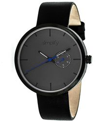 Simplify - The 3900 Leather-band Watch - Lyst