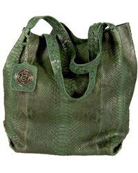 Cashhimi - Texas Genuine Python Shopping Bag - Lyst