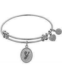 Angelica - Initial Bangle-y - Lyst