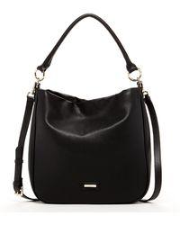 Susu - 'maria' Classic Hobo Bag Brown Leather Crossbody - Lyst