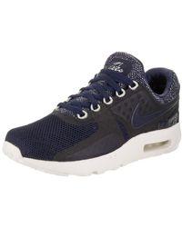 lyst nike air max 1 essenziale uomini scarpe da corsa in bianco per gli uomini.