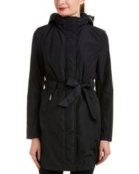 Laundry by Shelli Segal - Belted Coat - Lyst