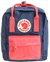 Fjällräven Kånken - Men's Blue Polyurethane Backpack - Lyst