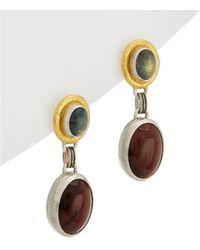 Gurhan - One Of A Kind 24k & Silver Gemstone Drop Earrings - Lyst