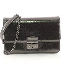 Dior - Pre Owned Miss Dior Promenade Pouch Crinkled Patent Large - Lyst e960696f472a4