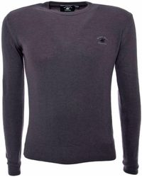 Beverly Hills Polo Club - Men's Grey Wool Sweater - Lyst