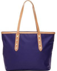 Susu - Hampshire Howe Nylon Tote Women's Shoulder Bag With Leather Handle - Lyst