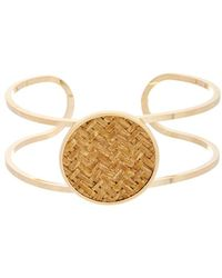 Kenneth Jay Lane - 22k Plated Bracelet - Lyst