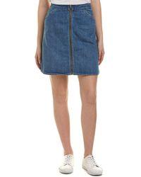 Levi's - Premium Orange Tab Skirt - Lyst