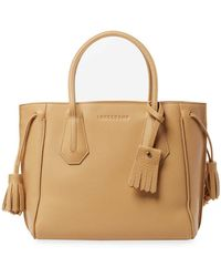 Longchamp - Penelope Small Leather Tote - Lyst