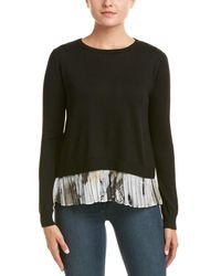Duffy - Layered Wool-blend Top - Lyst