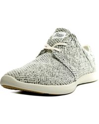 G.H.BASS - Gh Bass & Co Shelby Women Round Toe Canvas White Fashion Trainers - Lyst