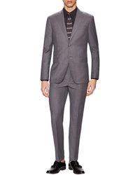 Michael Bastian - Gray Label Wool Sharkskin Notch Lapel Suit - Lyst