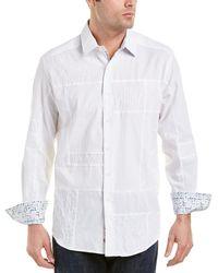 Robert Graham - Duke Classic Fit Woven Shirt - Lyst