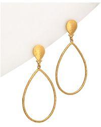 Gurhan - Hoopla 24k Drop Earrings - Lyst