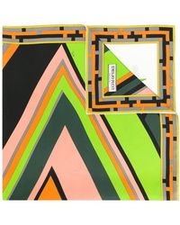 Emilio Pucci - Women's Multicolor Silk Foulard - Lyst