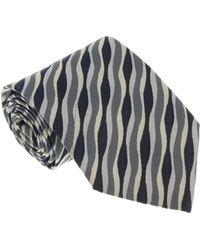Missoni - U3856 Gray/silver Animal 100% Silk Tie - Lyst