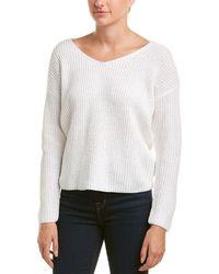 Astr - The Label Twist Back Sweater - Lyst