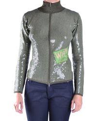 Who*s Who - Women's Green Viscose Sweatshirt - Lyst