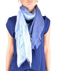 Altea - Women's Light Blue Modal Scarf - Lyst
