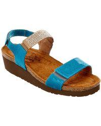 Naot - Lisa Leather Sandal - Lyst