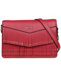 Liu Jo - Women's Red Polyurethane Shoulder Bag - Lyst