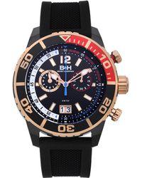 Brandt & Hoffman - Bayliss Men's Swiss Ronda Quartz Chronograph Watch, Textured Dial, Superluminova - Lyst