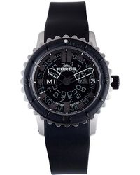 Fortis - : Mens B-42 Big Black Black Watch - Lyst