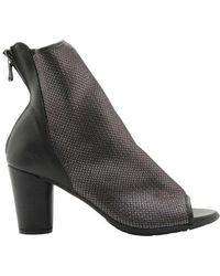 Arche - Women's Leioz Metallic Peep-toe Heel Bootie - Lyst