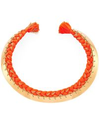 Aurelie Bidermann - Copacabana Collar Necklace - Lyst