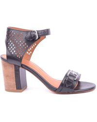 Marc By Marc Jacobs   Women's Mcbi197008o Black Leather Sandals   Lyst