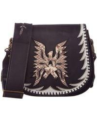 Frye - Eagle Leather Saddle Bag - Lyst