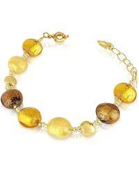 Antica Murrina - Women's Gold Other Materials Bracelet - Lyst