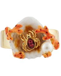 Les Nereides | Exoplanet Shell Corals And Spider Ring | Lyst