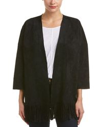Velvet - By Graham & Spencer Fringe Trim Jacket - Lyst