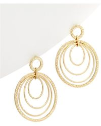 Kenneth Jay Lane - 22k Plated Doorknocker Earrings - Lyst