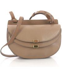 Chloé - Pre Owned Georgia Crossbody Bag Leather Mini - Lyst
