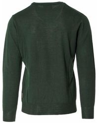Beverly Hills Polo Club - Men's Green Wool Sweater - Lyst