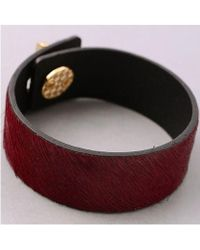 Bungalow 20 - Pony Hair Turnlock Cuff - Lyst