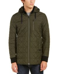 Victorinox - Swiss Army Quilted Hooded Jacket - Lyst