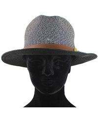 La Fiorentina - Straw Hat With Leather Strap - Lyst
