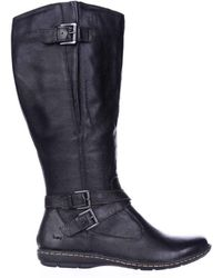 Born - Womens Barbana Closed Toe Knee High Fashion Boots - Lyst