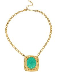 Gottex - Buried Treasure 18k Plated Necklace - Lyst