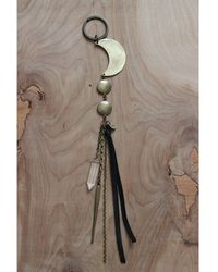 Love Leather   Moon Catcher Key Ring   Lyst