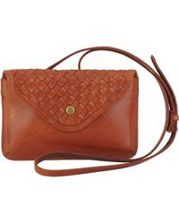 Most Wanted Usa - Handweaved Clutch Crossbody - Lyst