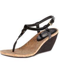 Ralph Lauren - Womens Reeta Split Toe Casual T-strap Sandals - Lyst